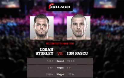 Ion Pascu revine in cusca, Bellator 215